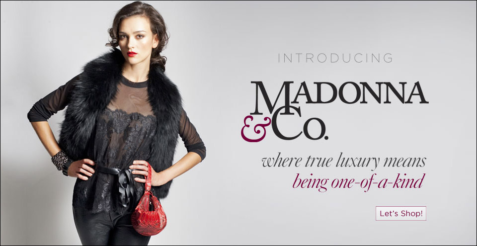 madonna & co, online shopping