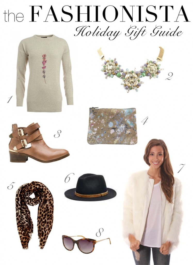 the fashionista holiday gift guide, gift ideas for her