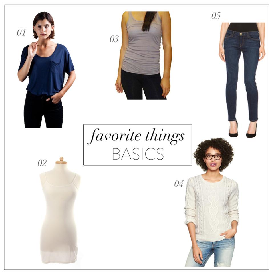 Favorite Things: Wardrobe Basics