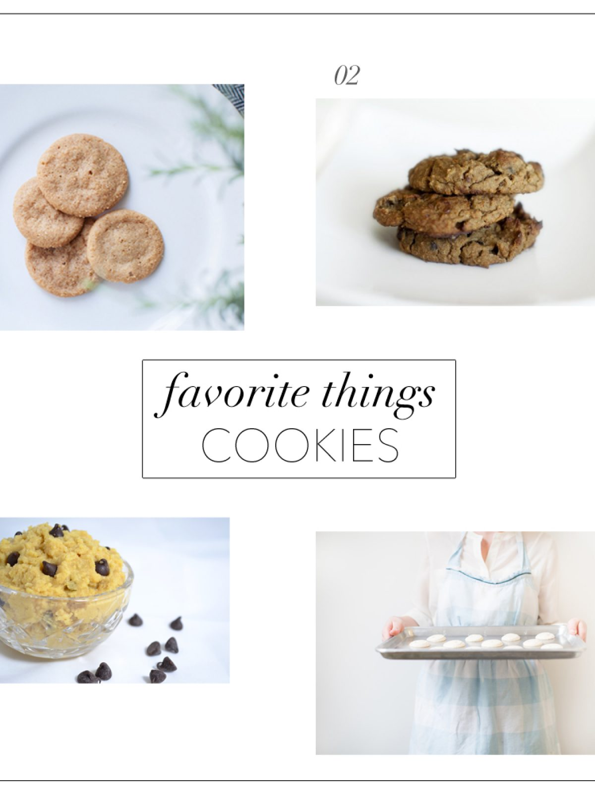 cookie chips, xk macarons