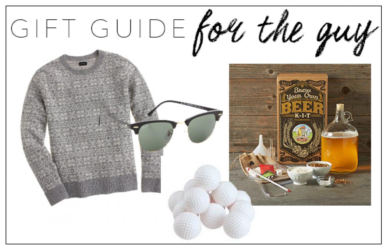 Guy Gift Guide