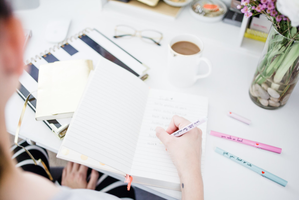 Mindy Mae's Market, working from home, the pros and cons of working from home, full time blogger, blogging full time, blogging tips, ban.do, writer