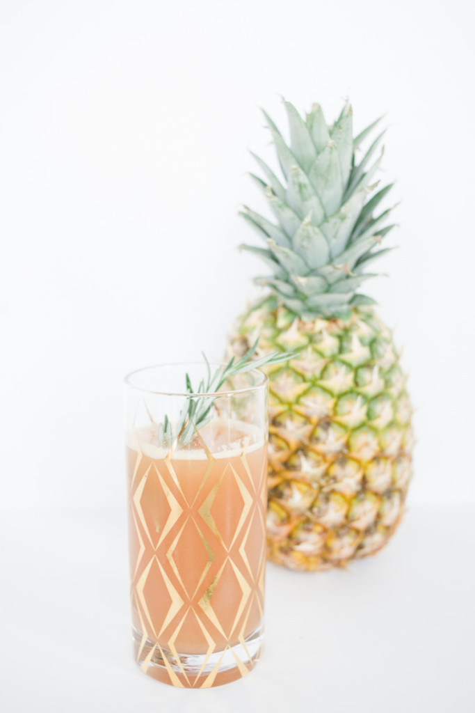 how to make pineapple ginger drink