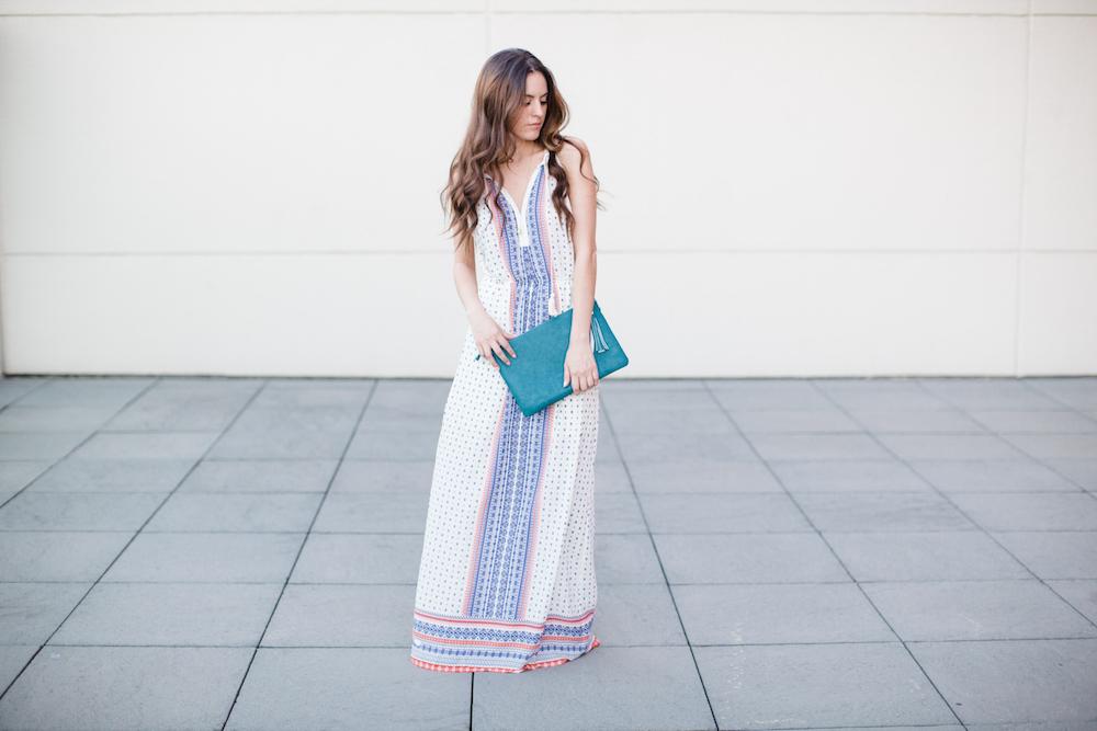 maxi dress, égérie clothing, camille's closet, summer style, atlanta style blogger, casual style, maxi dress