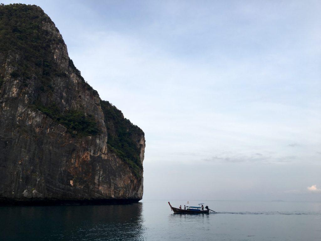 Maya Bay Sleep Aboard, Koh Phi Phi, The Beach the movie, Beach Life, Thailand