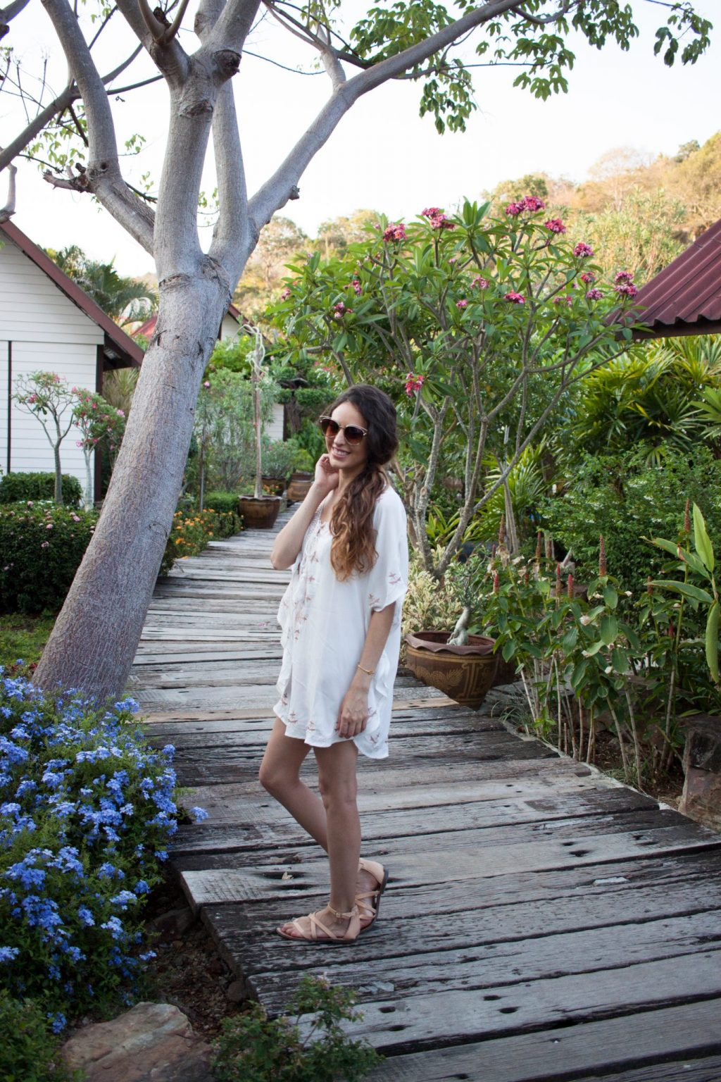 koh phi phi thailand, island vibes, beach outfit, what to wear on vacation, chicwish, island style, beach style, summer outfit ideas, summer style, sam edelman sandals, thailand
