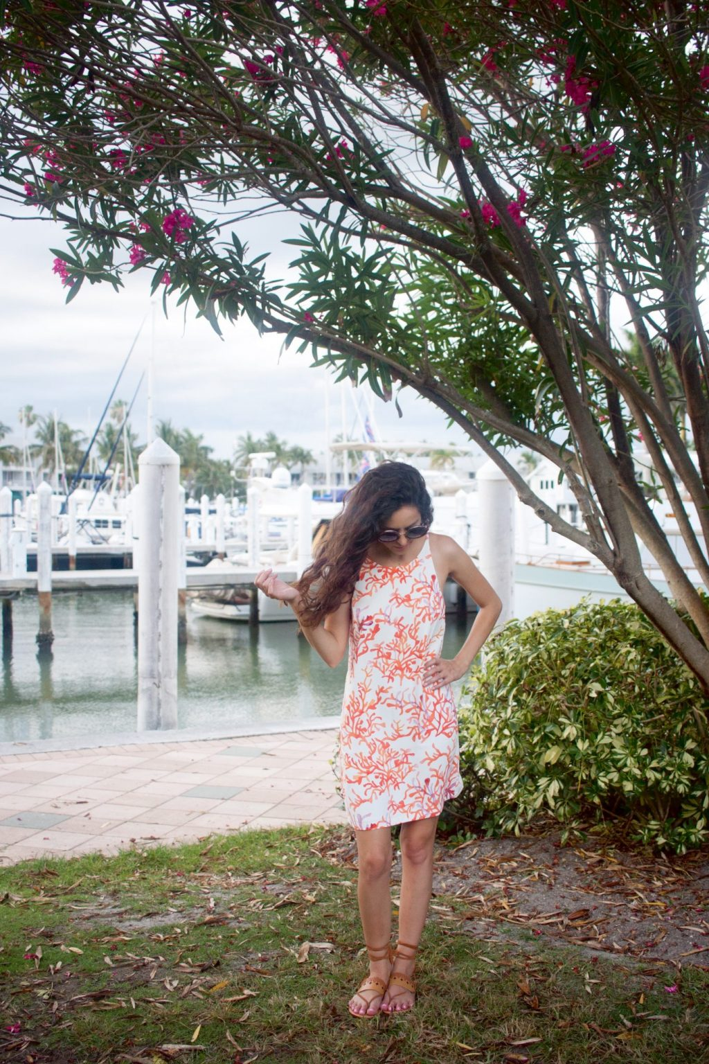 national seashell day, fort myers, sanibel, captiva, cooper & ella coral dress, cooper and ella Seren Dress