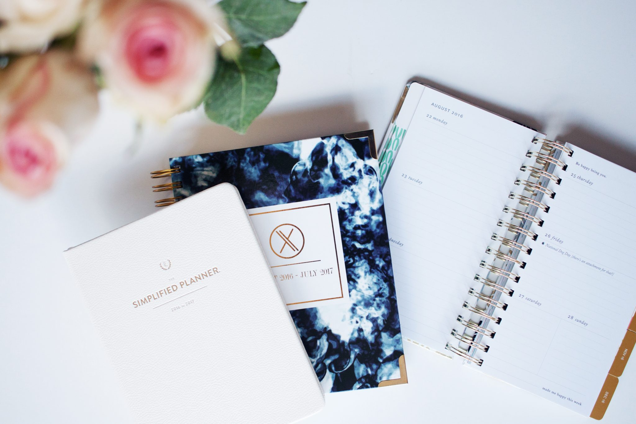 2016 Planners, the simplified planner, xo planners, the happiness planner, whitney english day designer, planners for entrepreneurs, planners for bloggers