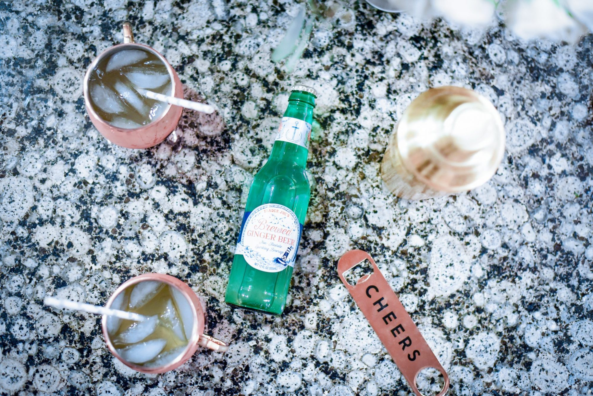 Apple Cider Moscow Mule Holiday Cocktail Recipe