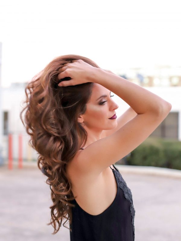 best hairstylist in atlanta, best makeup artist in atlanta, at home hair services atlanta, at home makeup services atlanta, marina hmua, fall makeover, fall hair ideas, fall beauty looks, fall makeup trends, ombre red lip, drop dead red too faced melted, beauty makeover