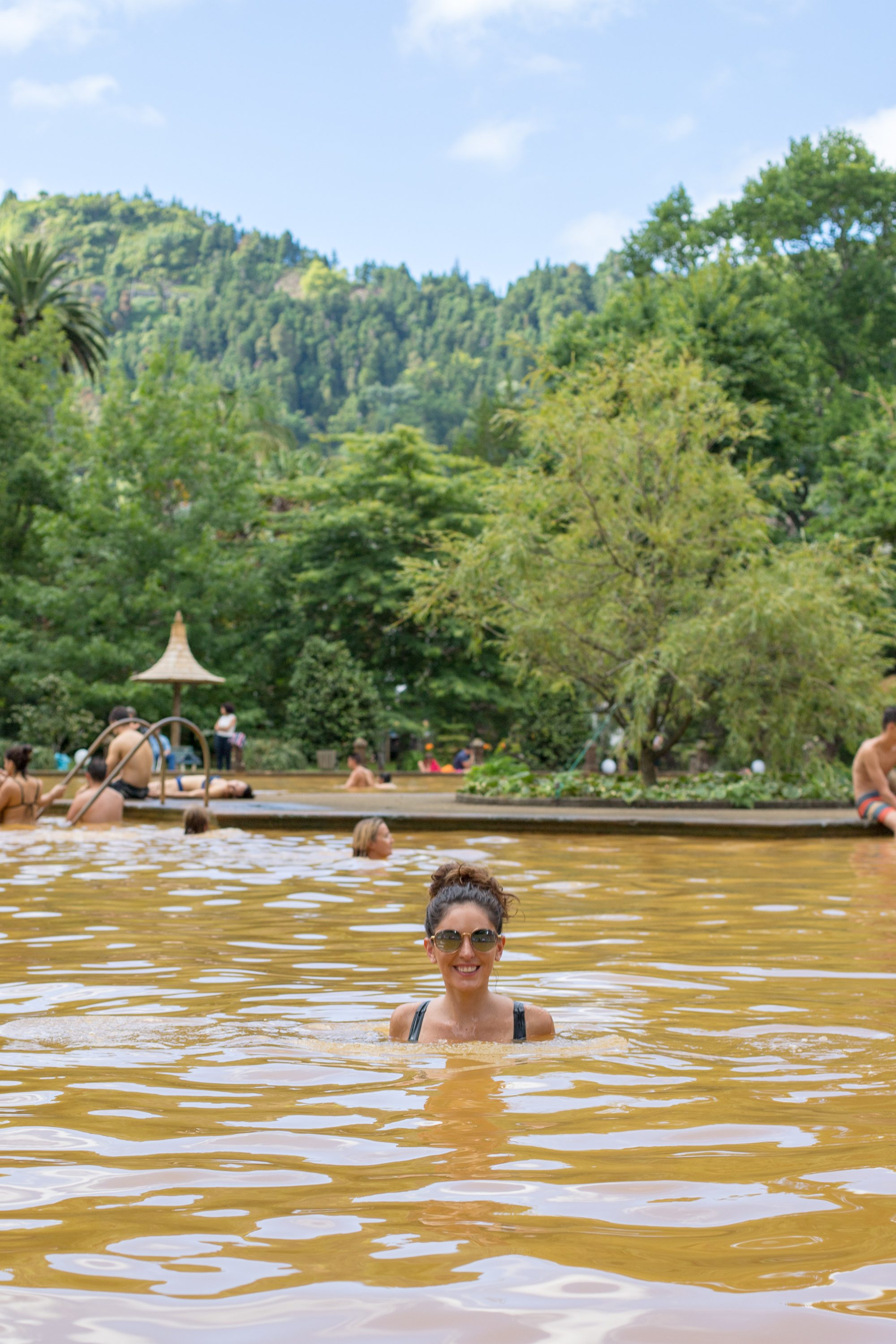 terra nostra, furnas, sao miguel, azores, sulfur hot springs, what to do in the azores, portugal