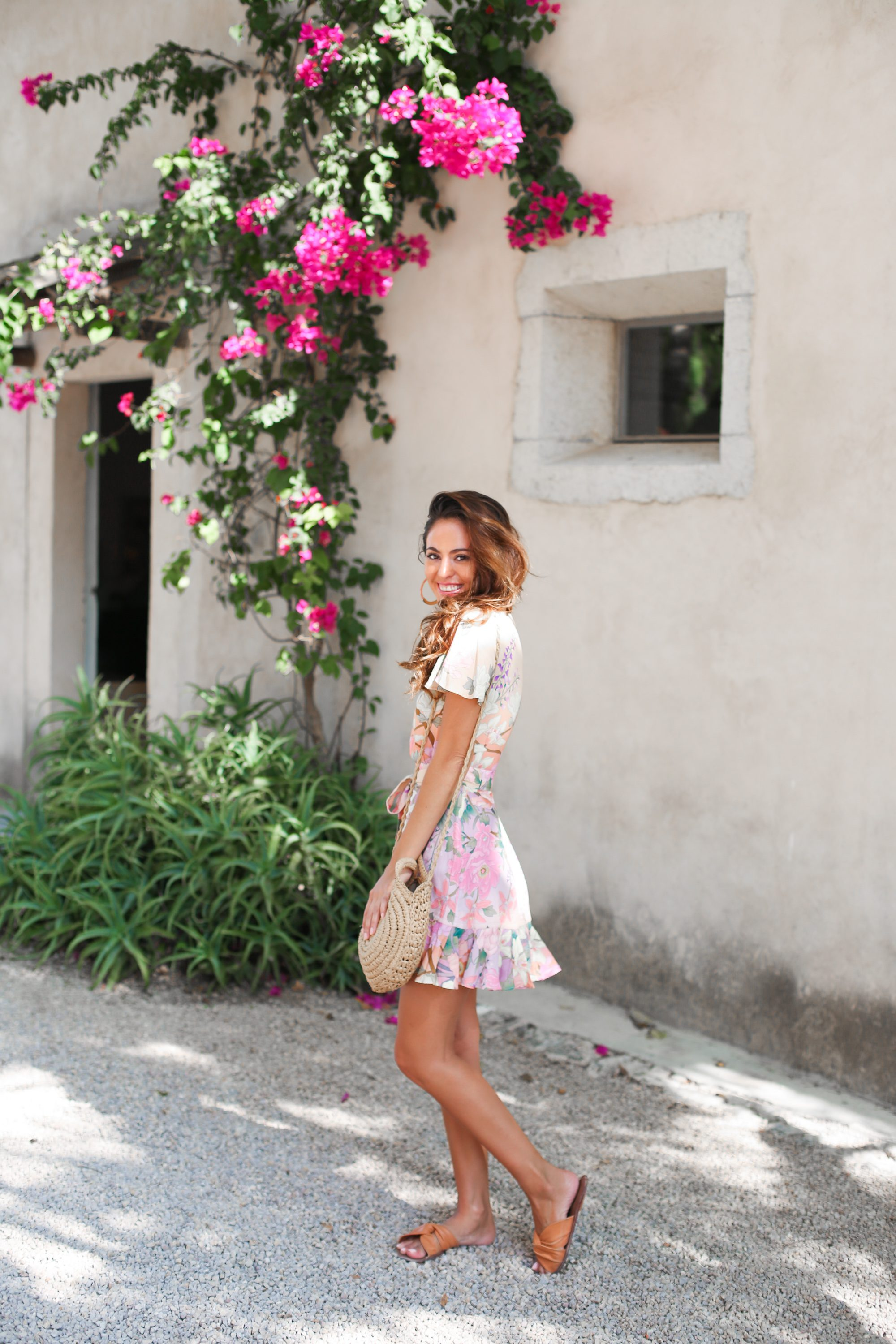 mallorca wineries, bodega ribas mallorca, spanish wineries, what to do in mallorca, spell and the gypsy collective LILY MINI DRESS, what to wear to a winery, summer sundress, spanish wine