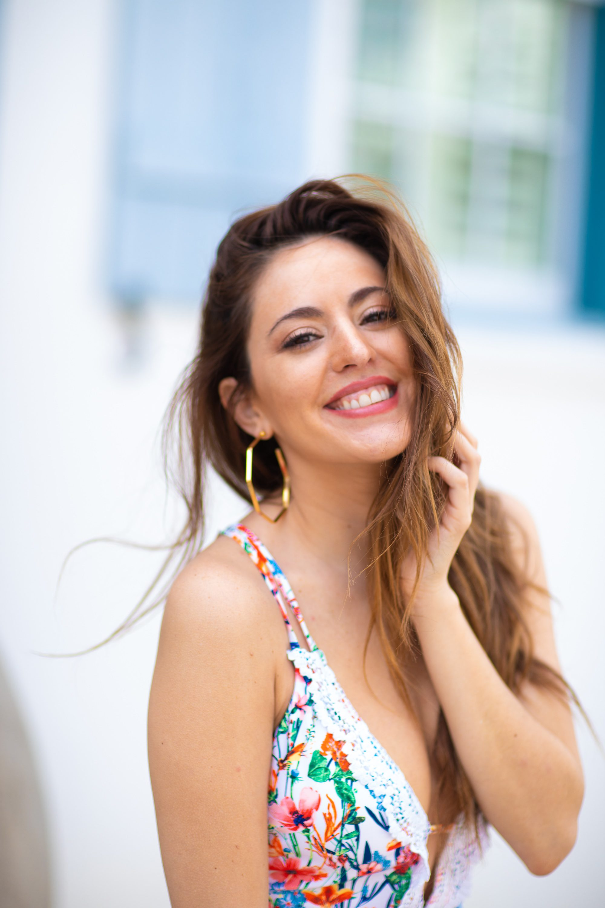 30A, alys beach, floral one piece bathing suit, spring break outfit ideas, how to wear a bathing suit as a bodysuit, day to night swimwear, open back bathing suits, weekend trips from Atlanta