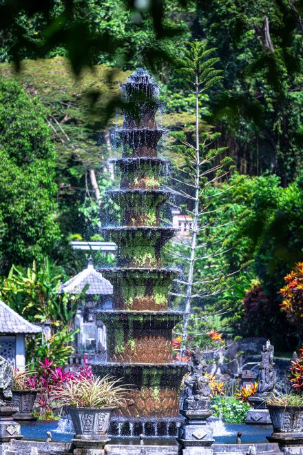 tirta gangga, Bali water palace, what to do in Bali, things to do in east bali, destination in east bali, where to feed fish in bali, koi fish bali, big lily pads bali, temples in bali, sights in bali, tourist destinations in bali