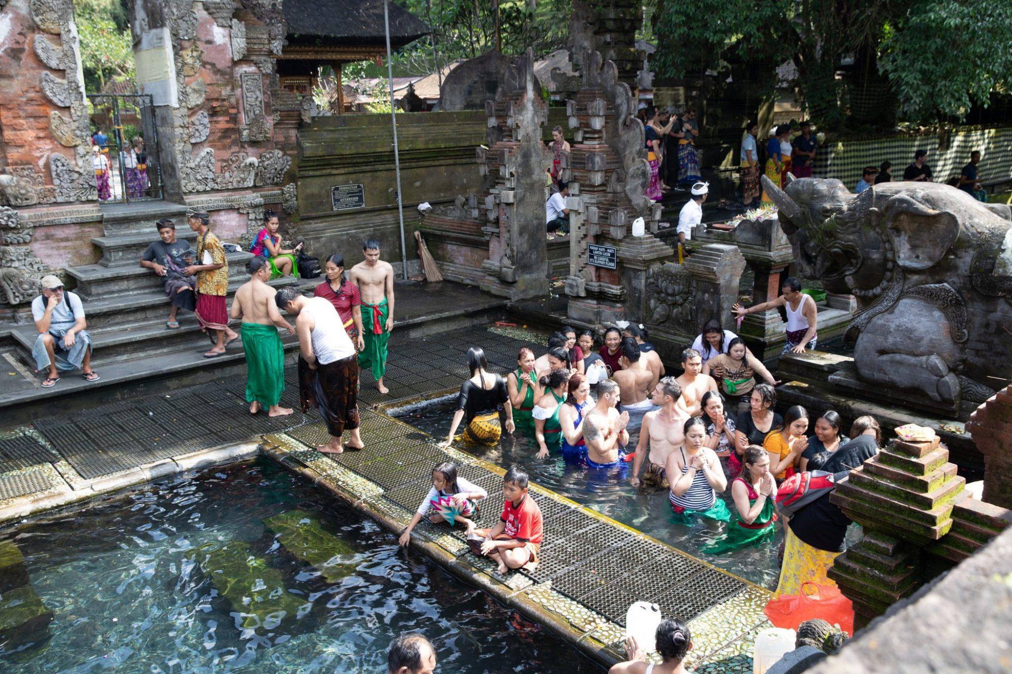 tirta empul bali, bali travel guide, where to avoid in bali