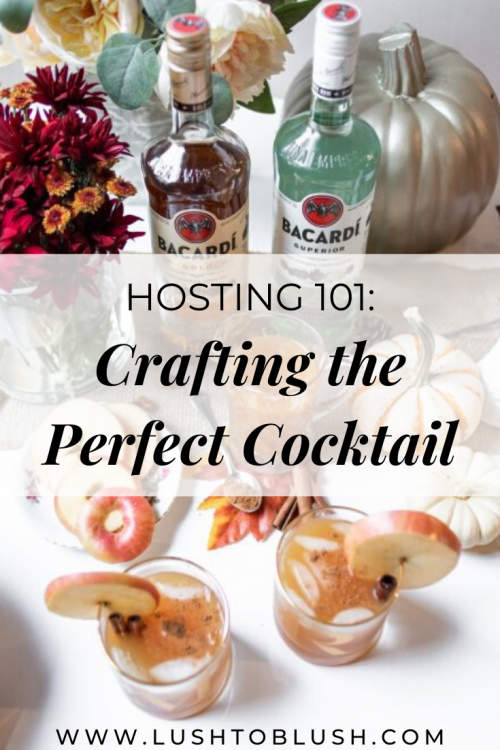 When hosting any kind of gathering, there's one single must-have that can't be skipped: cocktails shares Megan Elliot from Lush to Blush!